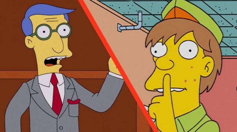 Los Simpson: estos personajes siempre aparecen en la serie pero no tienen nombre